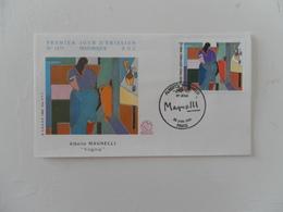 FRANCE FDC YT 2414 MAGNELLI, PARIS - 1980-1989