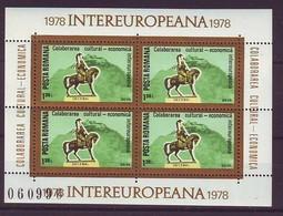 ROMANIA 3514,unused - Blocks & Sheetlets