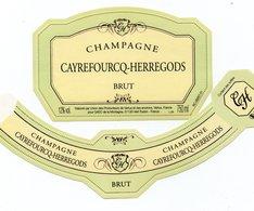 "Etiquette De Champagne     ""      Cayrefourcq-Herregors - Champagne"