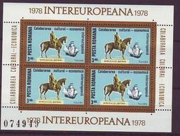 ROMANIA 3515,unused - Blocks & Sheetlets