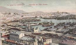 GENOVA PANORAMA DA VILLA ROSAZZA VG  AUTENTICA 100% - Genova