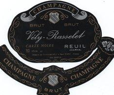 "Etiquette De Champagne     ""      Vely-Rasselet - Champagne"