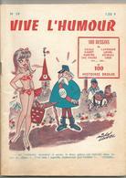 """Revue """" Vive L'humour """"  No 59  Loisel  Caille Lavergne  Env 2,50 - Livres, BD, Revues"""