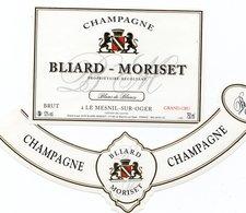 "Etiquette De Champagne     ""       Bliard-Moriset - Champagne"