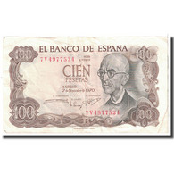 Billet, Espagne, 100 Pesetas, 1970, 1970-11-17, KM:152a, TTB - [ 3] 1936-1975 : Régence De Franco