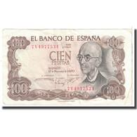 Billet, Espagne, 100 Pesetas, 1970, 1970-11-17, KM:152a, TTB - [ 3] 1936-1975 : Regime Di Franco