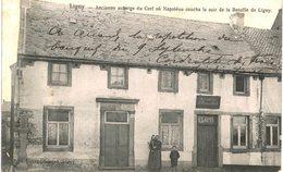 LIGNY   Ancienne Auberge Du Cerf Ou Napoléon Coucha Le Soir De La Bataille De Ligny. - Sombreffe