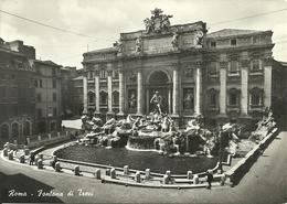 Roma (Lazio) Fontana Di Trevi, Trevi's Fountain, Fontaine De Trevi, Der Brunnen Von Trevi - Fontana Di Trevi