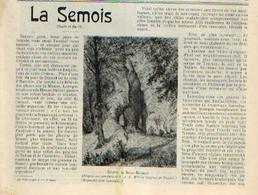 « La SEMOIS » Article Extrait Des « Bulletins Du Touring Club De Belgique » - 15/03/1909 Et 30/3/190 - 1900 - 1949