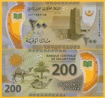 Mauritania 200 Ouguiya P-new 2017 UNC Polymer Banknote - Mauritanie