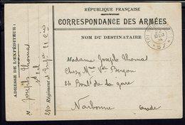 FR - Correspondance Des Armées En FM D'un Soldat Du 280ème Régiment D'Infanterie - Texte Tranchée, Mitraille - B/TB - - Postmark Collection (Covers)