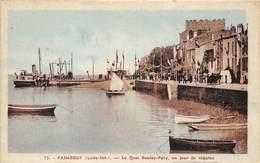 44-PAIMBOEUF- LE QUAI BOULAY-PATY UNE JOUR DE REGATS - Paimboeuf