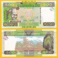Guinea 500 Francs P-47 2017 UNC Banknote - Guinea