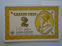 D163022  Altenburg-Stralsunder - Casino Chip  2 - Sample Playing Card (both Sides Same Printing) - Cartes De Casino