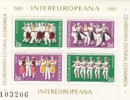 ROMANIA 3784-3787,unused - Blocks & Sheetlets