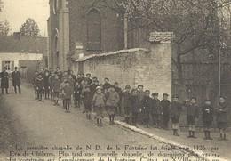 +++ CPA - CHIEVRES - Chapelle De ND De La Fontaine - Carte Animée !  - Nels   // - Chièvres