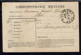 FR - Correspondance Militaire En FM Du 3-1-1915, Du 280ème Régiment D'Infanterie Pour Le Secteur Postal 57 - B/TB - - Postmark Collection (Covers)