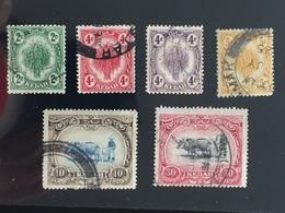 M1919-1926 Kedah Definitive 6V Used Q127 - Kedah