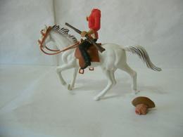 Nardi:soldatino Nardi Nardone Giubba Rossa  A Cavallo. - Miniature