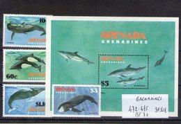 Grenadines. Cétacés - Grenade (1974-...)