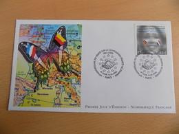 FDC France : 40 Ans Du Traité Franco-allemand - Paris 16/01/2003 - FDC