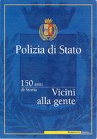 Polizia Di Stato - Anno 2002 - Folder - 6. 1946-.. Repubblica