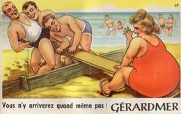 Gerardmer  88   Carte A Système 10 Vues ( Vous N'y Arriverez Quand Meme Pas ) A Les Voir - Gerardmer