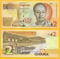 Ghana 2 Cedis P-37A 2017 UNC Banknote - Ghana