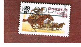 STATI UNITI (U.S.A.) - SG 2789  - 1993 CHEROKEE STRIP LAND RUN   - USED - Verenigde Staten