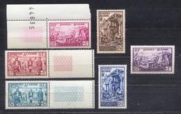 1954 - Algérie - Au Profit Des Sinistrés D' ORLEANSVILLE - Algeria (1924-1962)