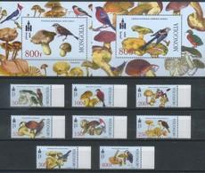 Mongolia 2003 Fauna, Birds, Flora, Mushrooms - Mongolie