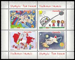 Canada (Scott No.1862b - Stampin' The Future) [**] Feuillet / SS - 1952-.... Règne D'Elizabeth II