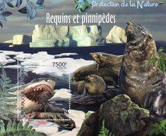 BURUNDI 2011 / Magnifique Bloc Dentelé MNH Erreur De Date Poste 201 Au Lieu De 2011 - Préservation Des Régions Polaires & Glaciers