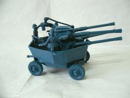 WW2 Soldatini Atlantic CANNONE MOBILE  Tedesco 1/32 - Miniature