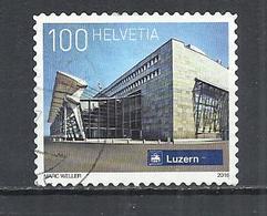 SWITZERLAND 2016 - LUCERNE RAILWAY STATION - USED OBLITERE GESTEMPELT USADO - Switzerland