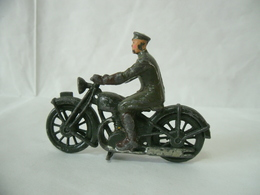 Britains Vintage Piombo Esercito Britannico #1791 Royal Segnale MOTO Dispatch Ride - Non Classificati