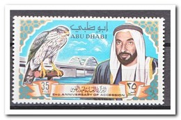 Abu Dhabi 1967, Postfris MNH, Birds, Bridge - Abu Dhabi