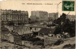 CPA PARIS 18e Montmartre. Le Maquis Ed. C.M. (577290) - Arrondissement: 18