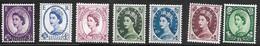 Great Britain Scott   297//307 Mint NH VF+   CV $ 80.00 - 1952-.... (Elizabeth II)