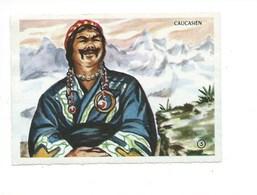 CAUCASUS Caucase Caucasien Race Chromo TB 90 X 65 Mm Comme Neuve Dos Blanc Pas De Pub. - Autres