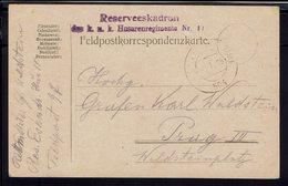 Allemagne - Guerre 1914-18 - Correspondance Feldpost 97 Pour Prague En FM - Texte Du 31-12-1914 - B/TB - - Germany