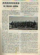 «Les Chasseurs Cyclistes Au Camp De BEVERLOO » Article Extrait Du « Bulletin Du Touring Club De Belgique » - 08/1904 - Revues & Journaux
