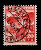 Switzerland. 1939. Stamp For Youth. Gril Of Nidwalden - Usados