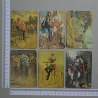 PORTUGAL   1986 - NELSON MOREIRA -  6  CALENDARIOS  - (Nº11010) - Calendriers