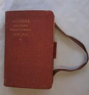 AGENDA Militaire 1916-1917,des Officiers Et Sous Officiers ,Berger-Levrault , - Documents