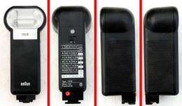 Vintage BRAUN Petit Flash électronique 170B - Matériel & Accessoires