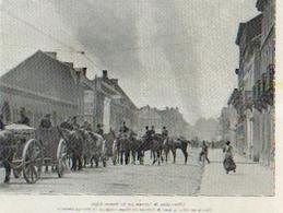(LOUVAIN, GEMBLOUX, Etc…) « Scènes De L'invasion Allemande En Belgique »  Divers Textes Avec 14 Photos In ---> - 1914-18