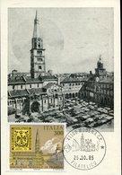 43872, Italia Maximum  1985, Modena The Basilica  Church  Architecture - Maximum Cards