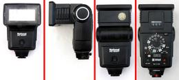 Vintage NATIONAL Flash électronique PE-2057 Orientable ZOOM 35/85 .... - Matériel & Accessoires