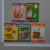 PORTUGAL   1988 - PELIKAN -  5  CALENDARIOS  - (Nº11028) - Grossformat : 1981-90